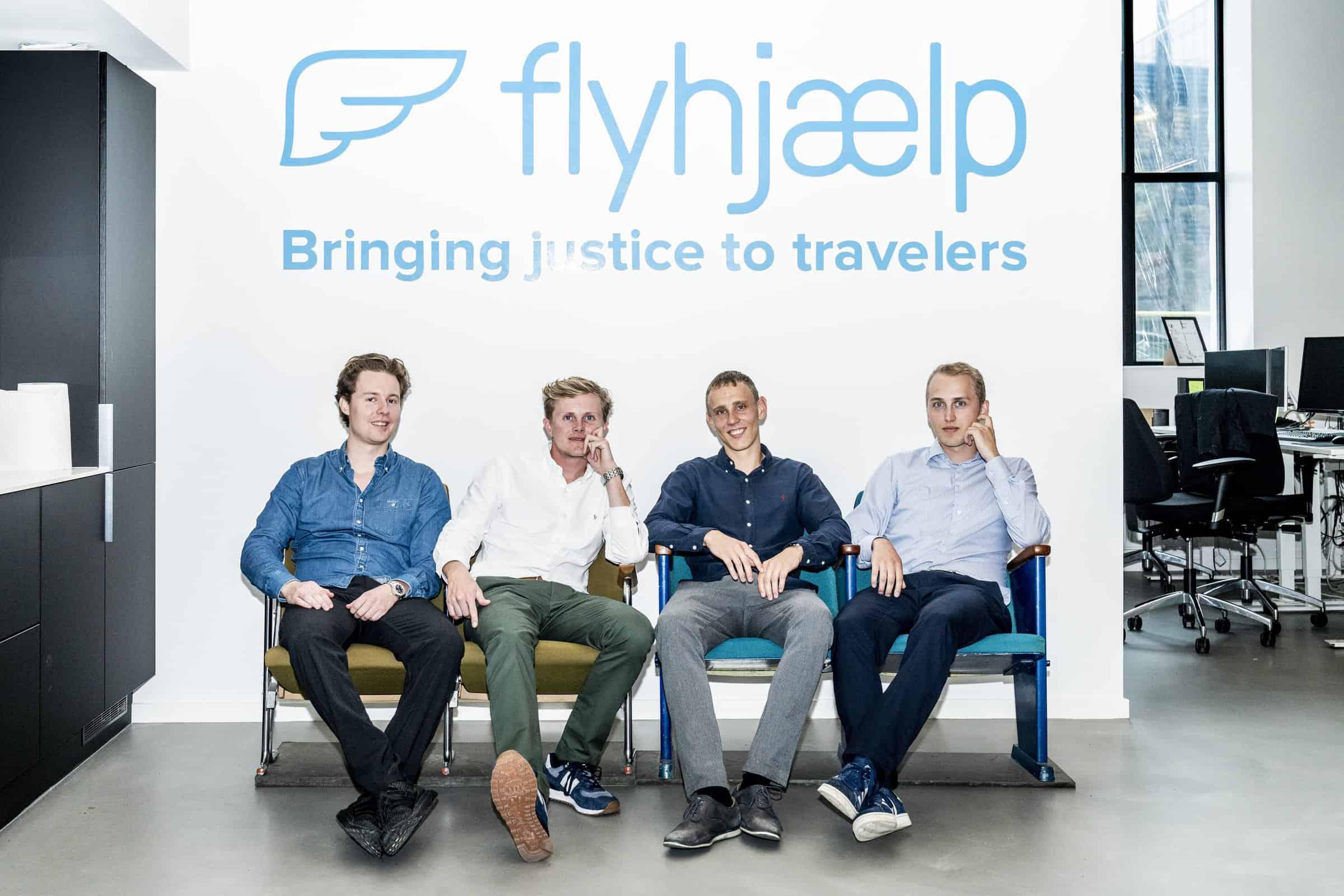 Philip Brechmann, Gustav Frederik Thybo, Alex Kirkeberg og Johan Thybo