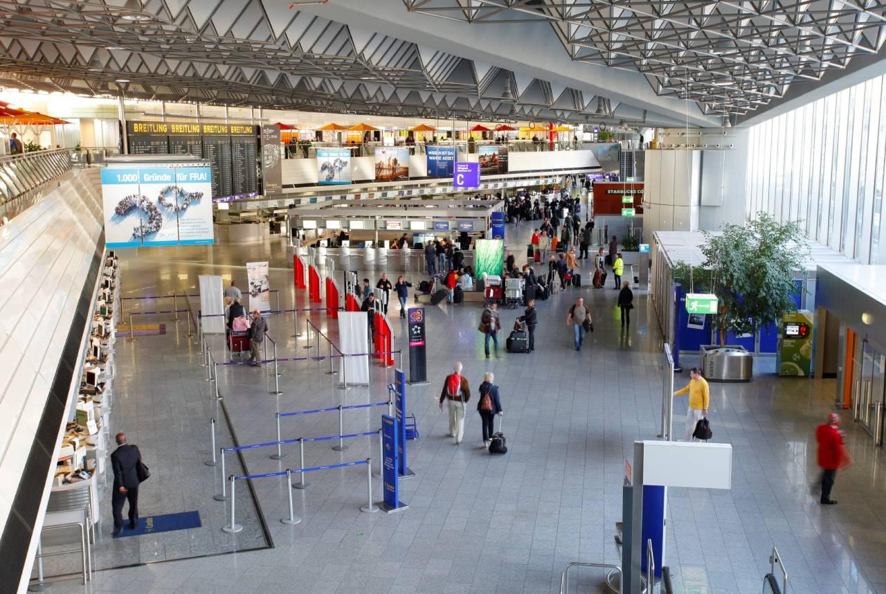 Strejke Frankfurt lufthavn laver flyaflysning