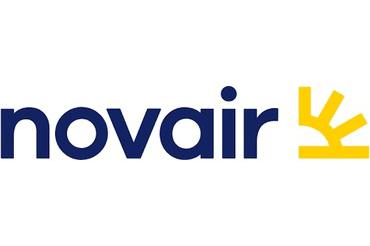 Nova Air logo der linker til bookingbekræftelse