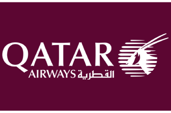 Logo for Qatar Airways