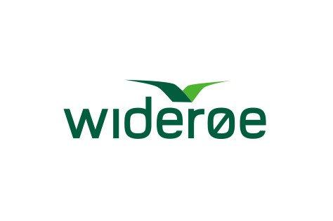wideroe logo der linker til booking